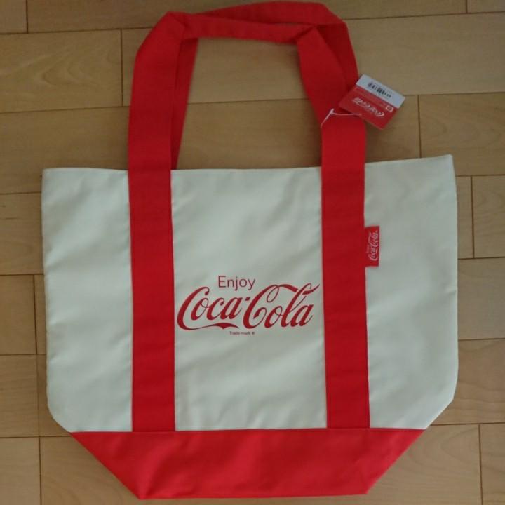 【新品未使用】コカ・コーラ トートバッグ