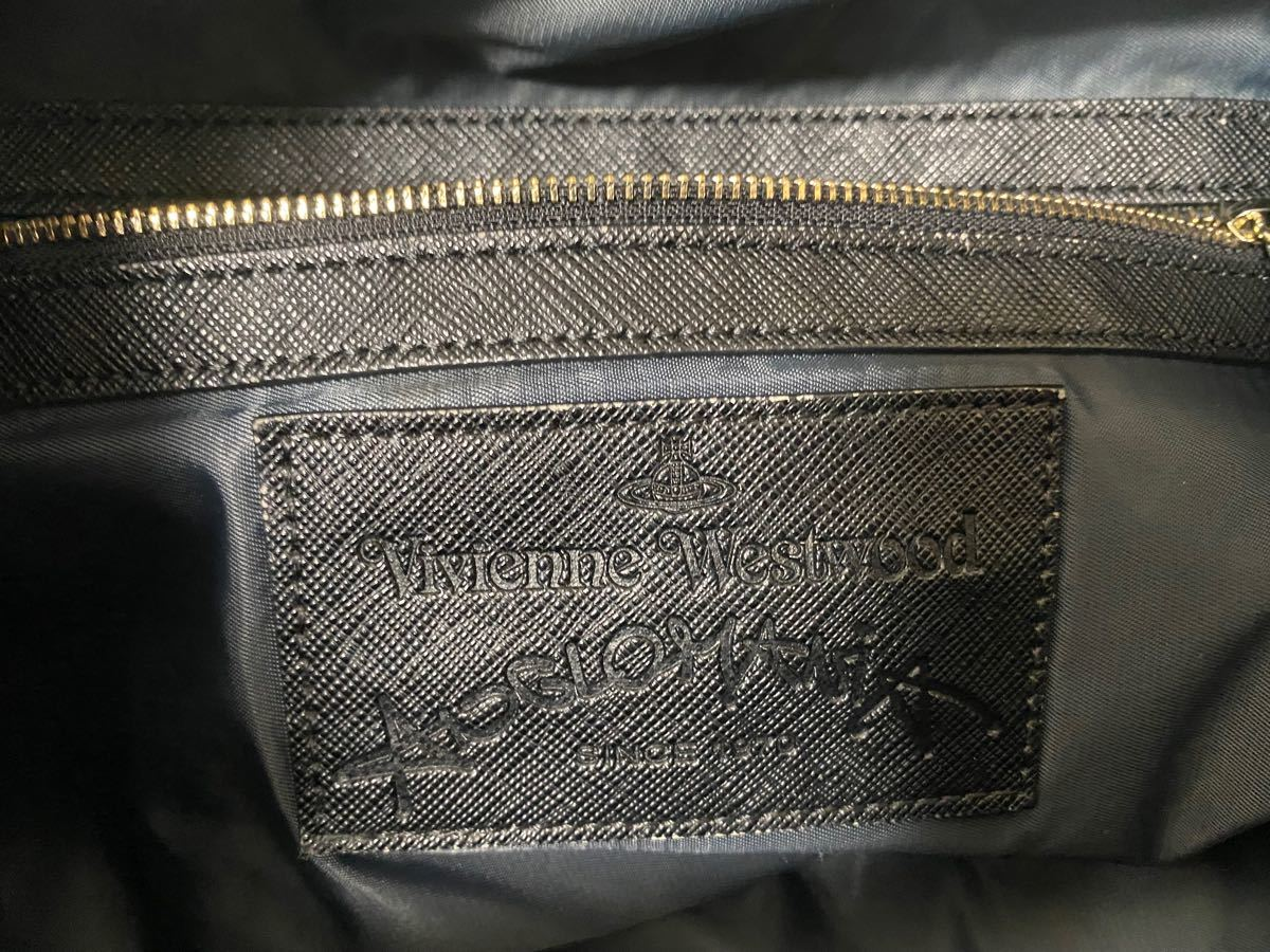 ヴィヴィアンウエストウッド Vivienne Westwood ハンドバッグ 2way ボストン ショルダー トート レザー 革