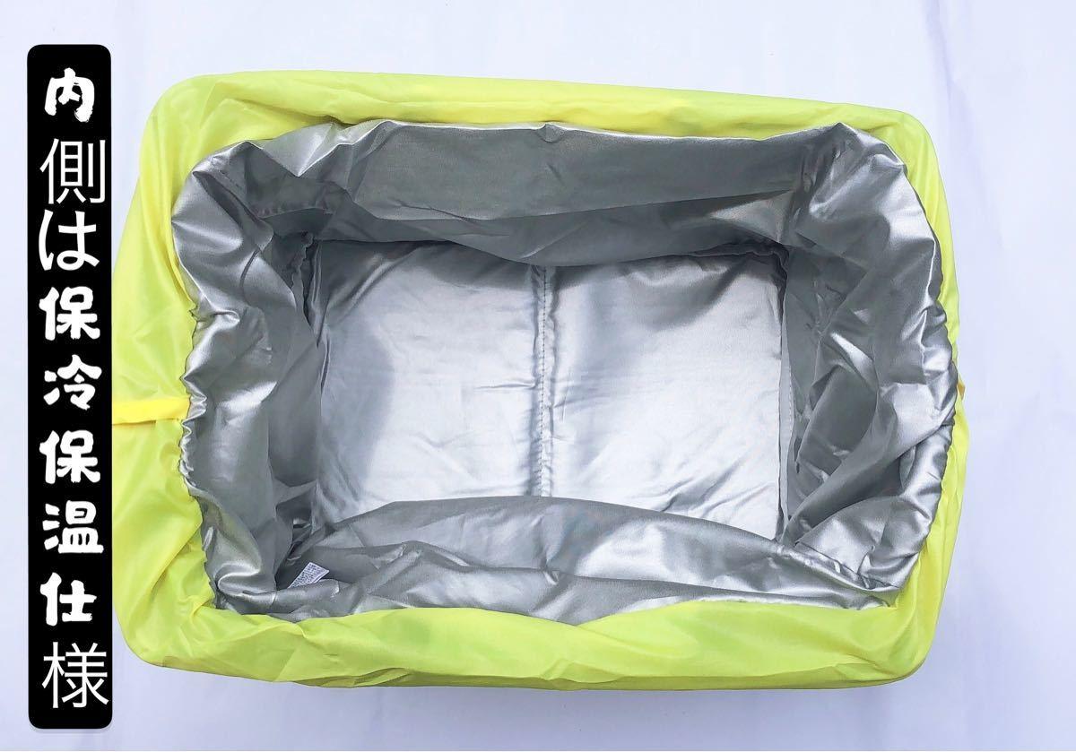 在庫わずか レジカゴバッグ エコバッグ 大容量   保温保冷 ミントグリーン柄
