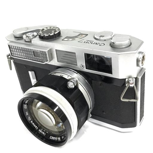 1円 CANON MODEL 7 LENS 50mm 1:1.4 レンジファインダー フィルムカメラ キャノン C2062