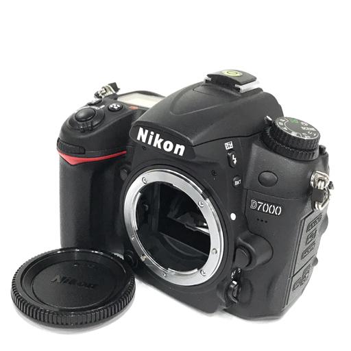 1円 Nikon D7000 デジタル一眼レフカメラ ボディ 動作確認済み 付属品有り ニコン