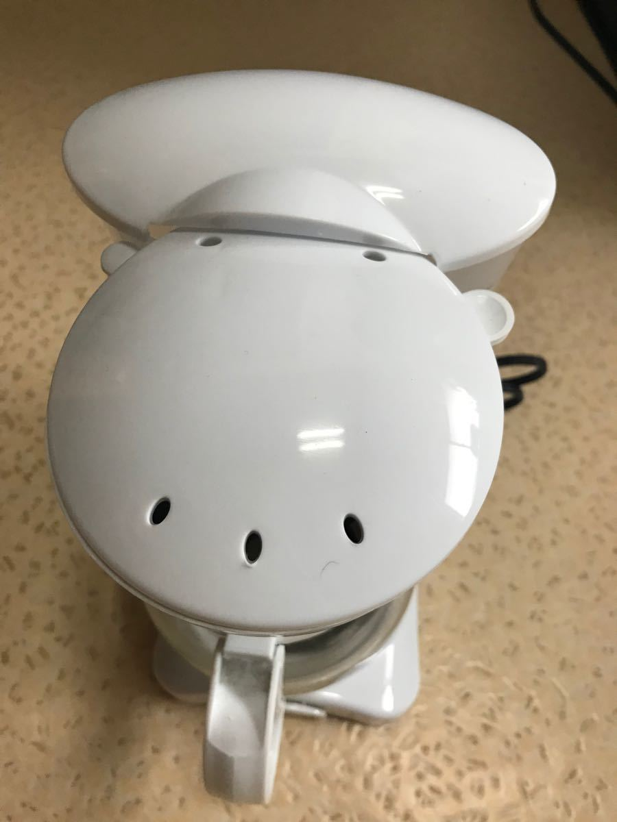 SIMPLE + LIFE DXコーヒーメーカー  ドリップ式 650ml ホワイト