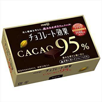 新品 お買い得 明治 チョコレート効果カカオ95%BOX 60g×5箱JIY4_画像2