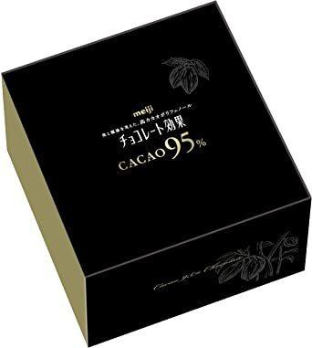 新品 お買い得 オススメ! 明治 チョコレート効果カカオ95%大容量ボックス 800gE5DX_画像1