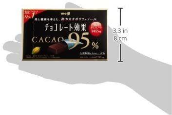新品 お買い得 明治 チョコレート効果カカオ95%BOX 60g×5箱JIY4_画像10