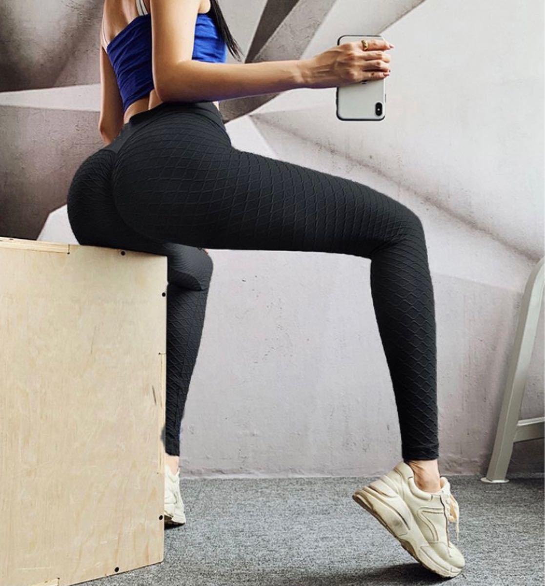 スパッツ ヨガパンツ レギンス ピンク 夏 伸縮性あり M スポーツ レディース セクシー ヨガウェア トレーニング 美尻 美脚