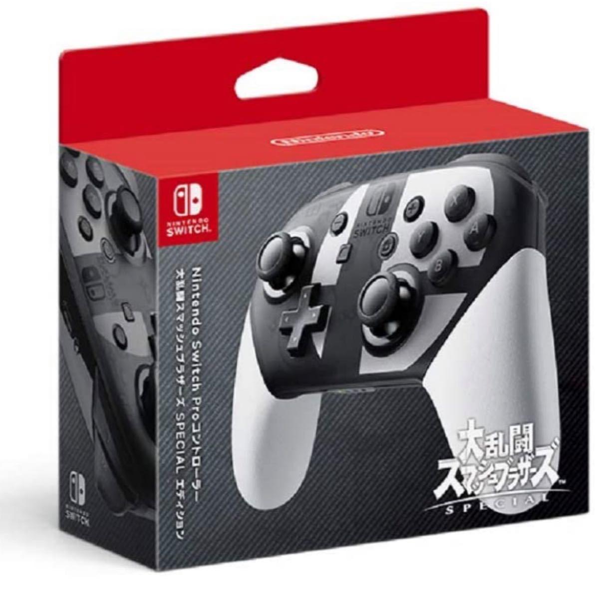 Proコントローラー Nintendo Switch 大乱闘スマッシュブラザーズ 中古
