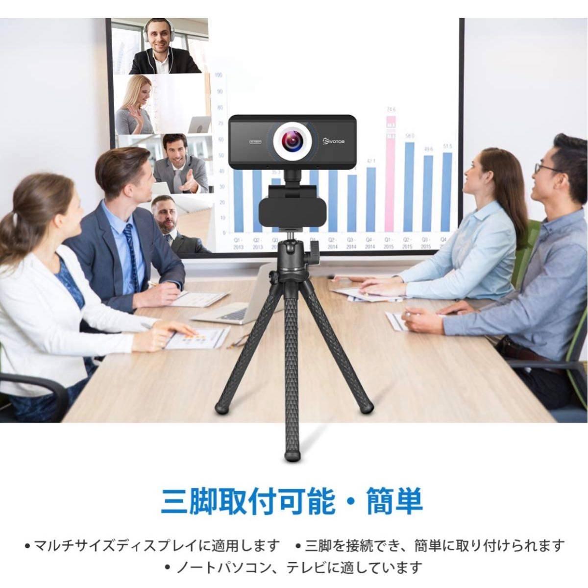 ウェブカメラ フルHD WEBカメラ 美顔機能 マイク内蔵 1080P