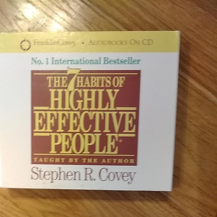 七つの習慣7つの習慣 英語版CD 3枚