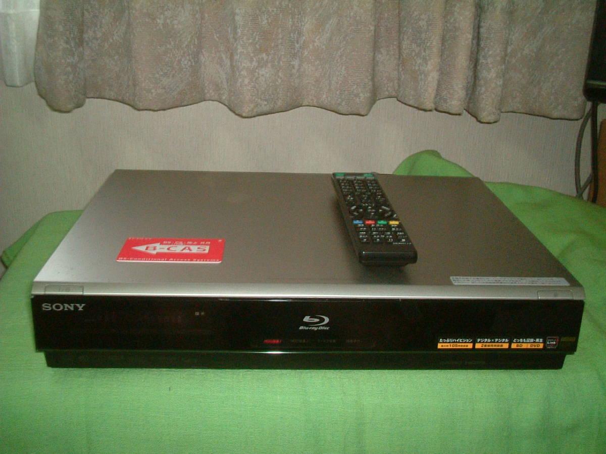 1ヶ月保証 ソニー BDZ-T70  HDD/DVD/ブルーレイ/ レコーダー   2番組同時録画 新品リモコン B-CASカード付き_画像1