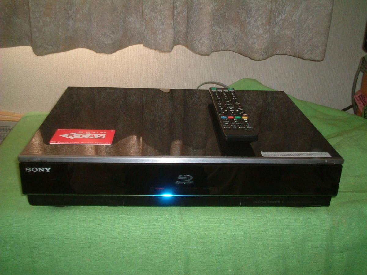 1ヶ月保証 ソニー BDZ-X90  HDD/DVD/ブルーレイ/ レコーダー 2番組同時録画 500GB 新品リモコン B-CASカード付き_画像1