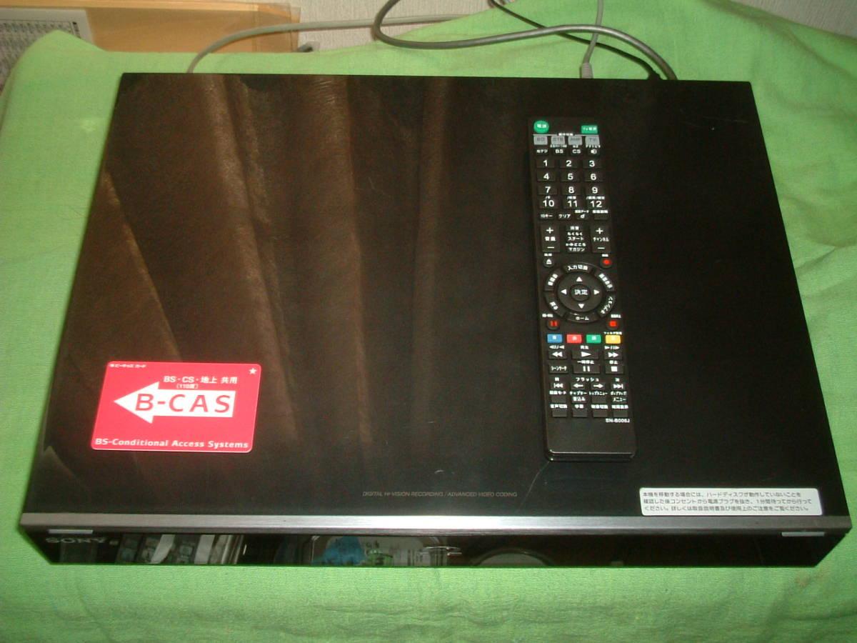 1ヶ月保証 ソニー BDZ-X90  HDD/DVD/ブルーレイ/ レコーダー 2番組同時録画 500GB 新品リモコン B-CASカード付き_画像2