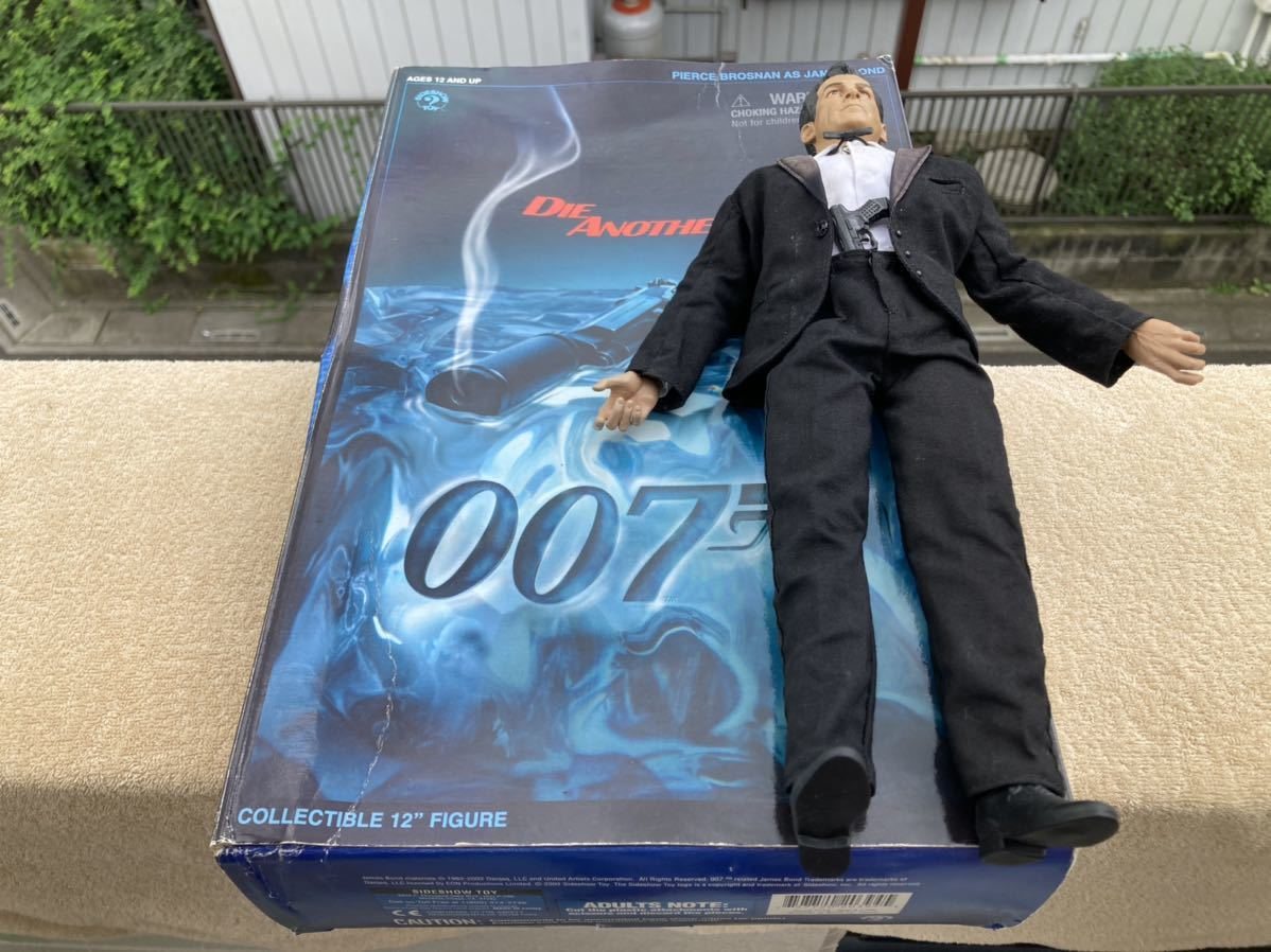Sideshow TOY DIE ANOTHER DAY 007 12インチ フィギュア 2002年