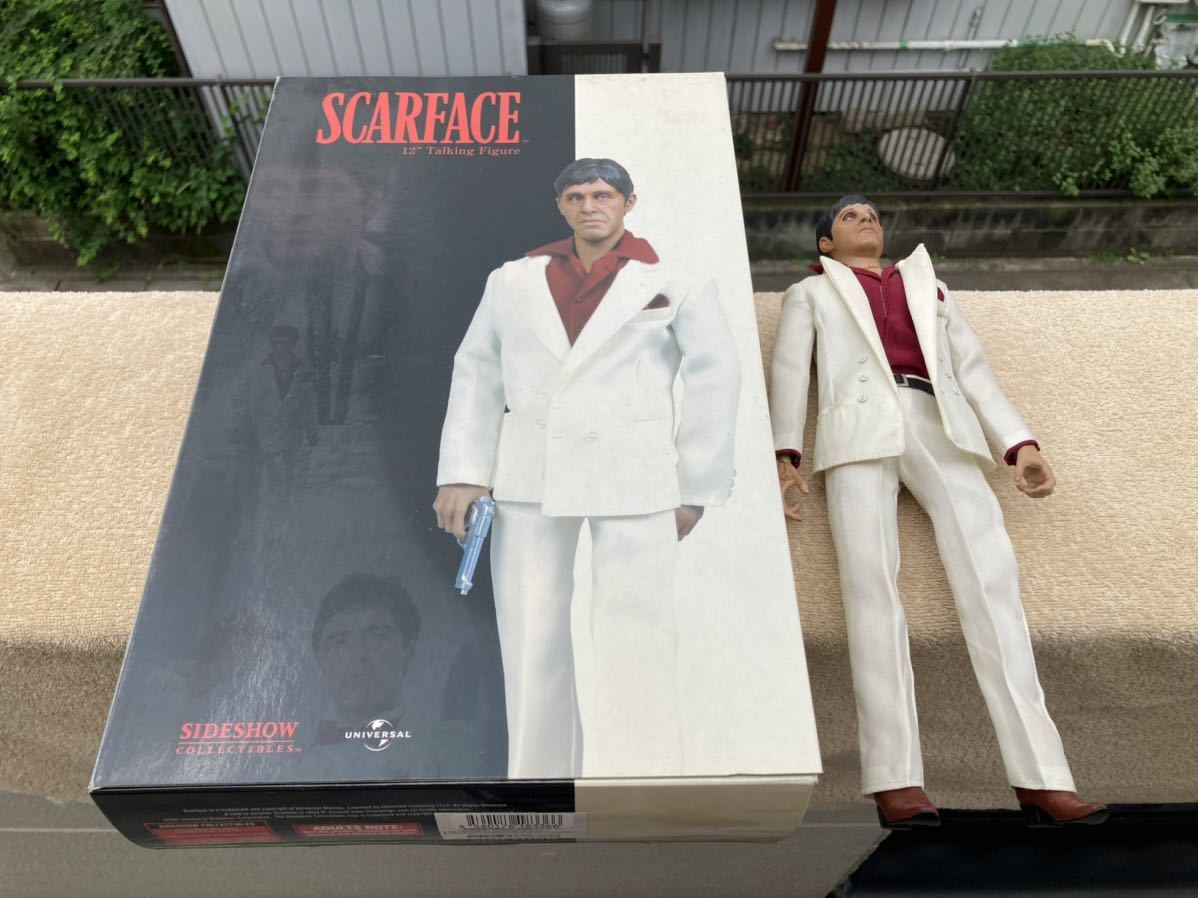 Sideshow collectibles SCARFACE フィギュア 12 Talking Figure MSD正規輸入代理店
