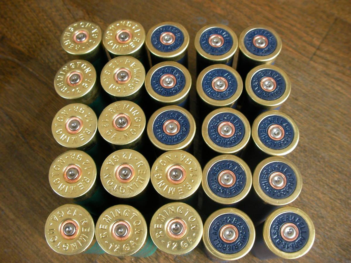 [個人] レミントン&F2 2種 空薬莢 ショットガン ダミーカート 25本セット M870 M4 M24 M700 M40 VSR L96 98K M37 SDV APS _画像4