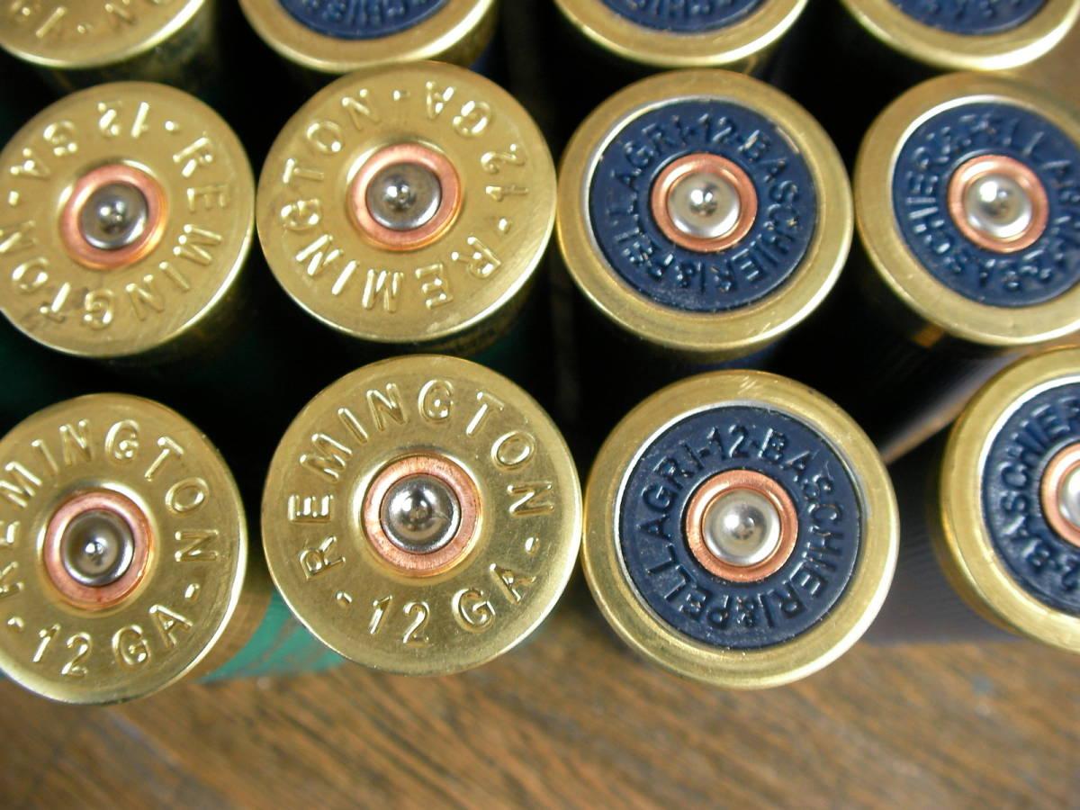 [個人] レミントン&F2 2種 空薬莢 ショットガン ダミーカート 25本セット M870 M4 M24 M700 M40 VSR L96 98K M37 SDV APS _画像5