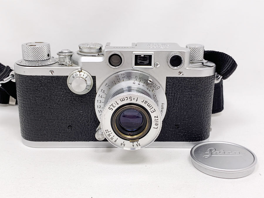 動作品!Leica ライカ D.R.P. Ernst Leitz Wetzlar Leitz Elmar f=5cm 1:3.5 レンジファインダー フィルムカメラ