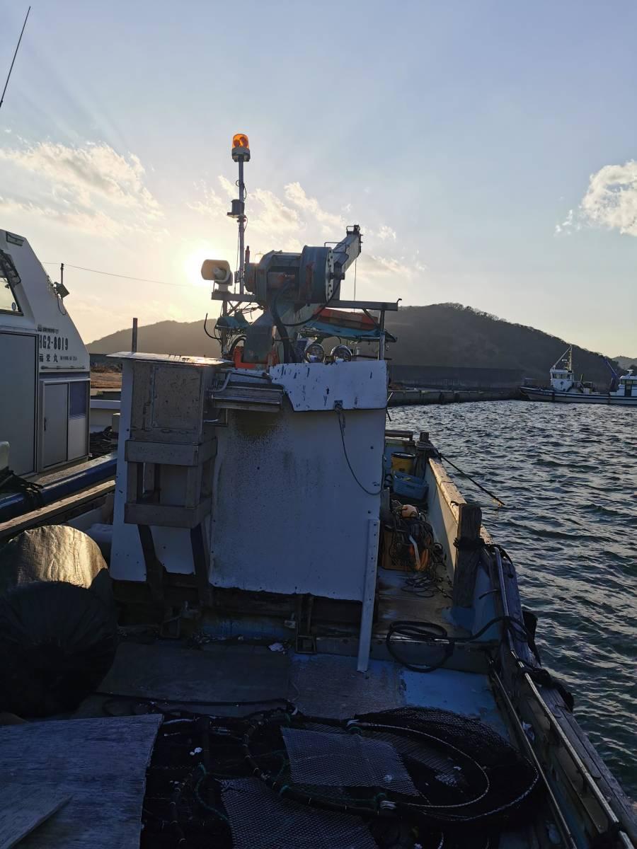 「牡蠣船 現状渡し カキ船 漁船」の画像2