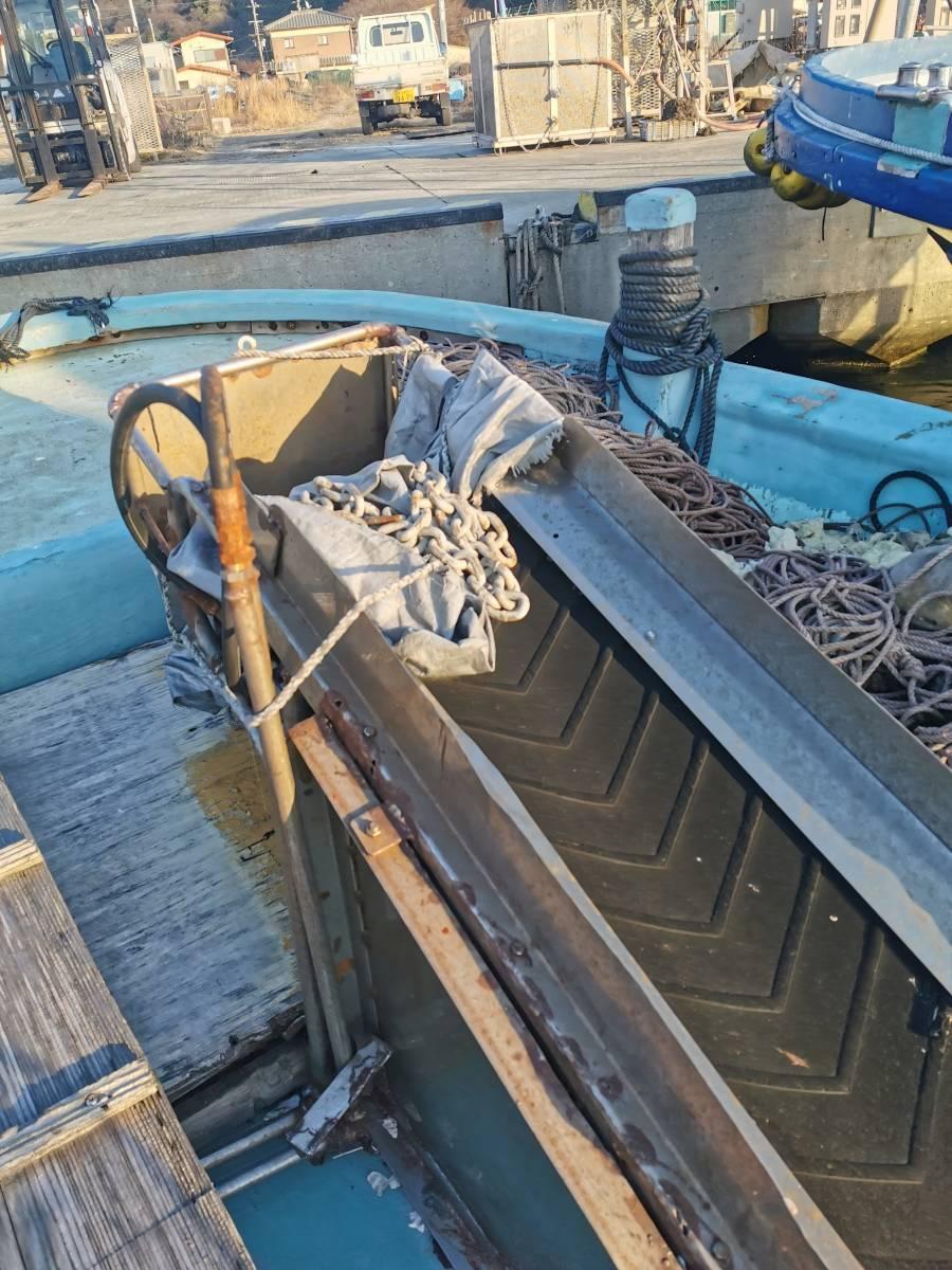 「牡蠣船 現状渡し カキ船 漁船」の画像3