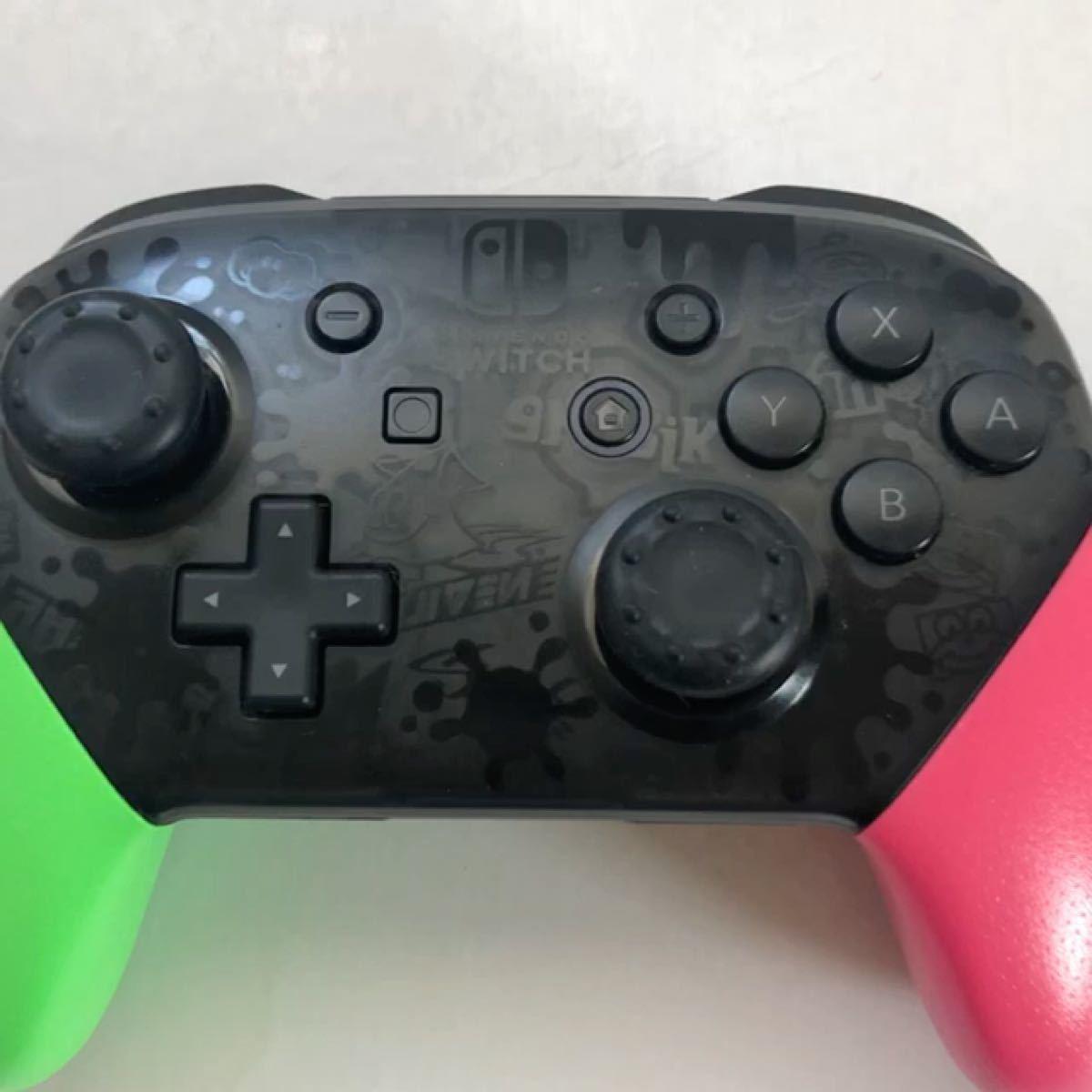 Nintendo Switch Proコントローラー スプラトゥーン2エディション 動作未確認ジャンク