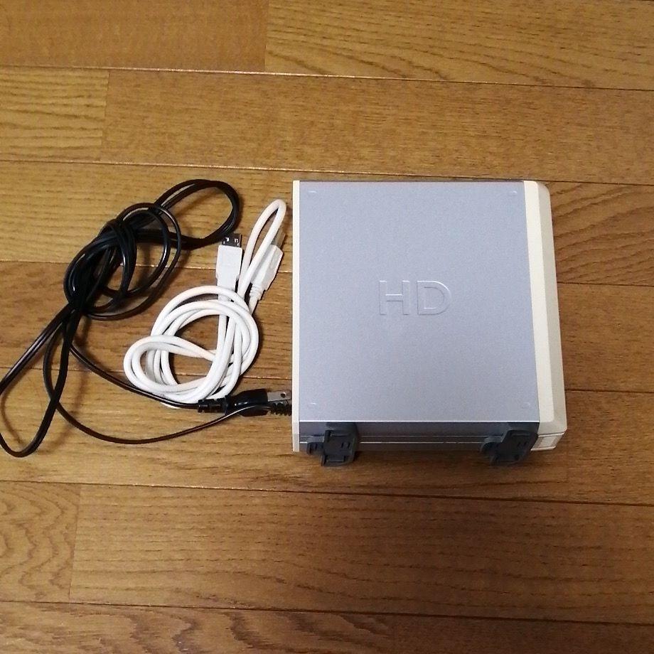USB型外付けHDD 160GB