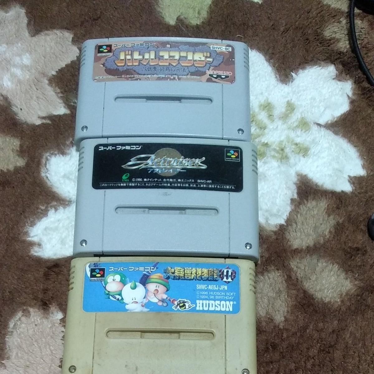スーパーファミコンソフト ジャンク スーパーファミコンソフト スーパーファミコン SFC