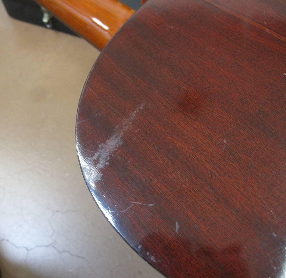 ★#21969 中古品 小傷多 YAMAHA G-150A クラシックギター アコースティックギター ヤマハ ハードケース付で_画像7