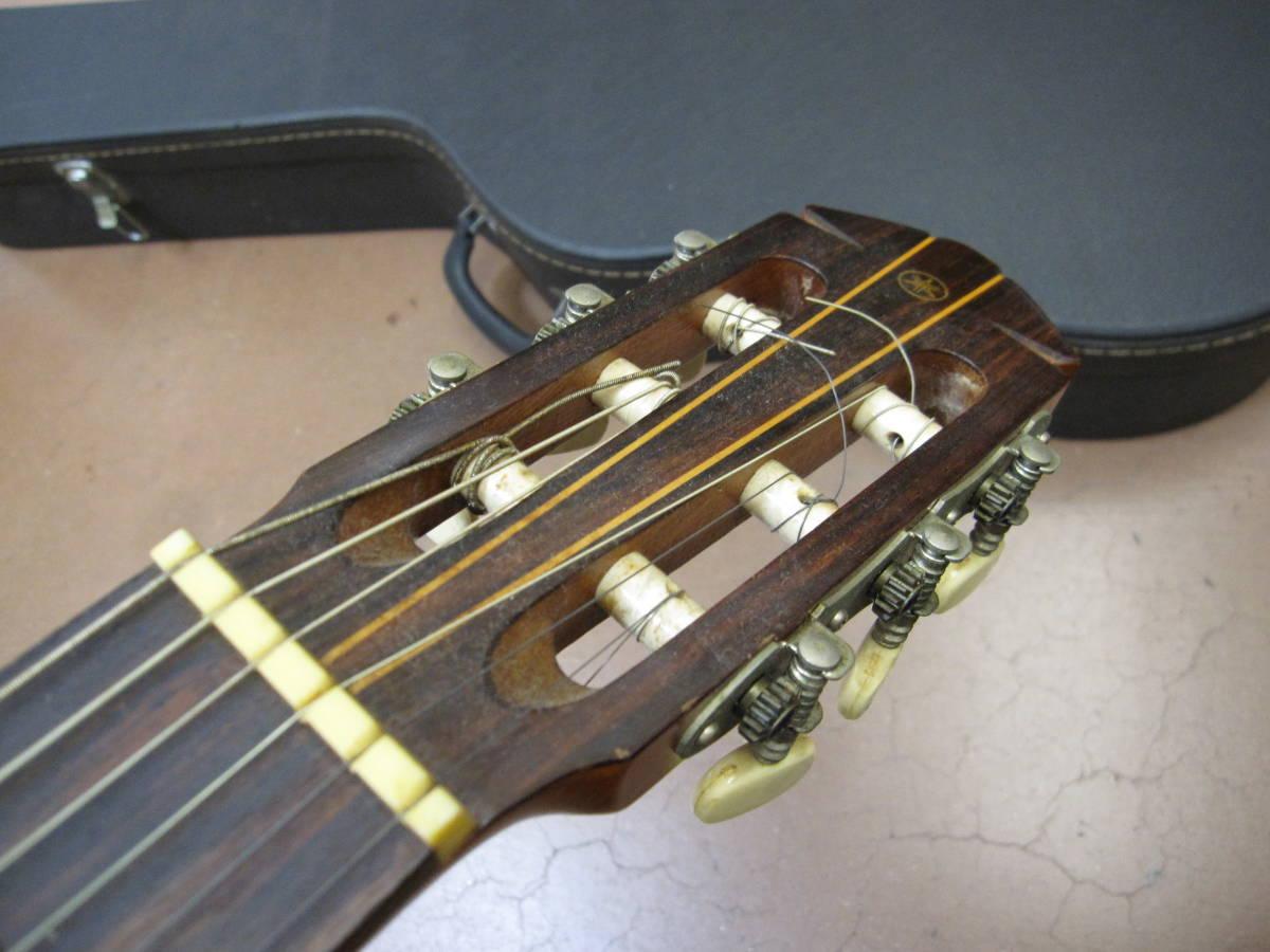★#21969 中古品 小傷多 YAMAHA G-150A クラシックギター アコースティックギター ヤマハ ハードケース付で_画像6