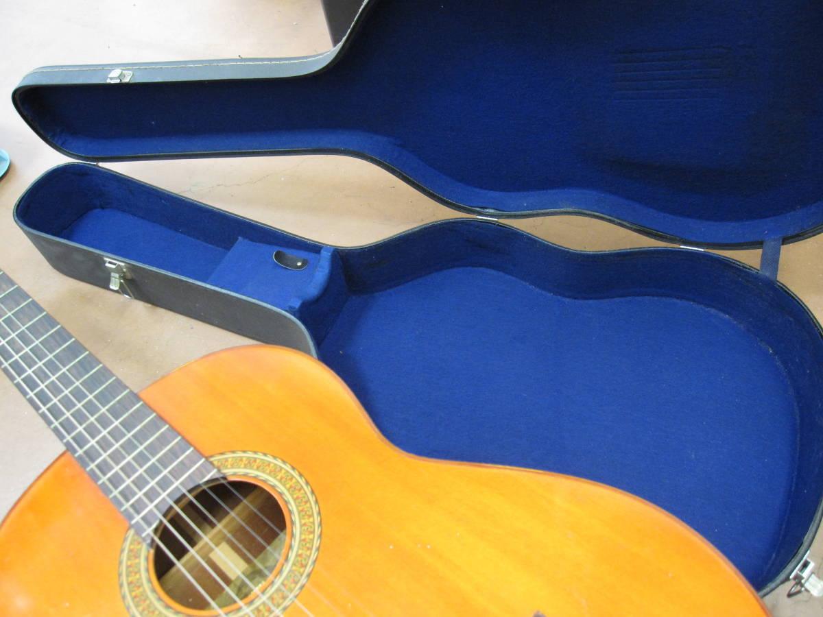 ★#21969 中古品 小傷多 YAMAHA G-150A クラシックギター アコースティックギター ヤマハ ハードケース付で_画像10