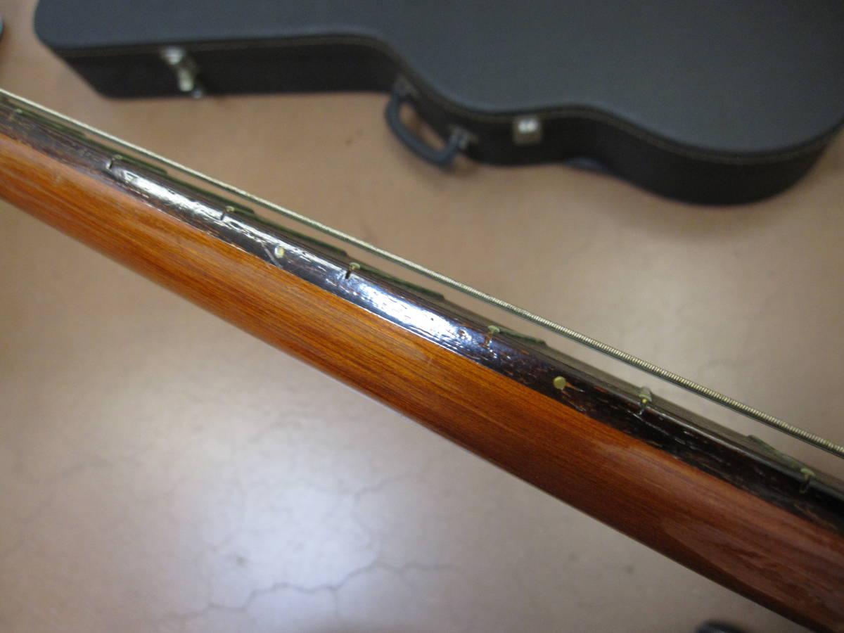★#21969 中古品 小傷多 YAMAHA G-150A クラシックギター アコースティックギター ヤマハ ハードケース付で_画像3