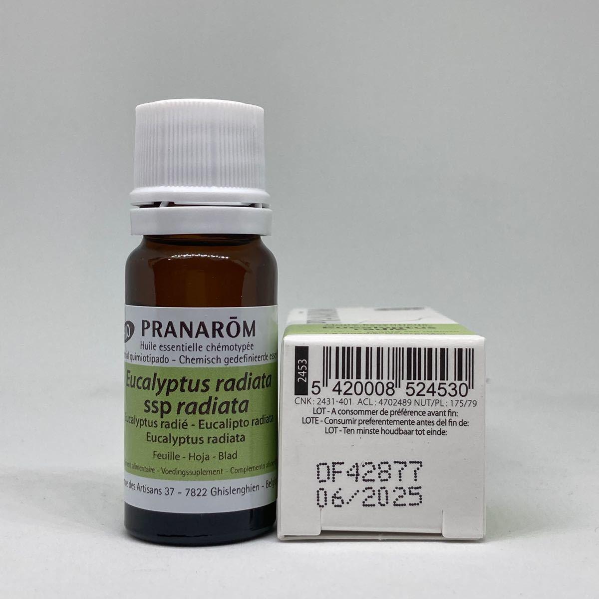 プラナロム ユーカリ ラディアタ BIO 10ml 精油 ユーカリラジアータ