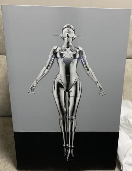 新品 HAJIME SORAYAMA SEXY ROBOT FLOATING 1/6 空山基 シルバー_画像2