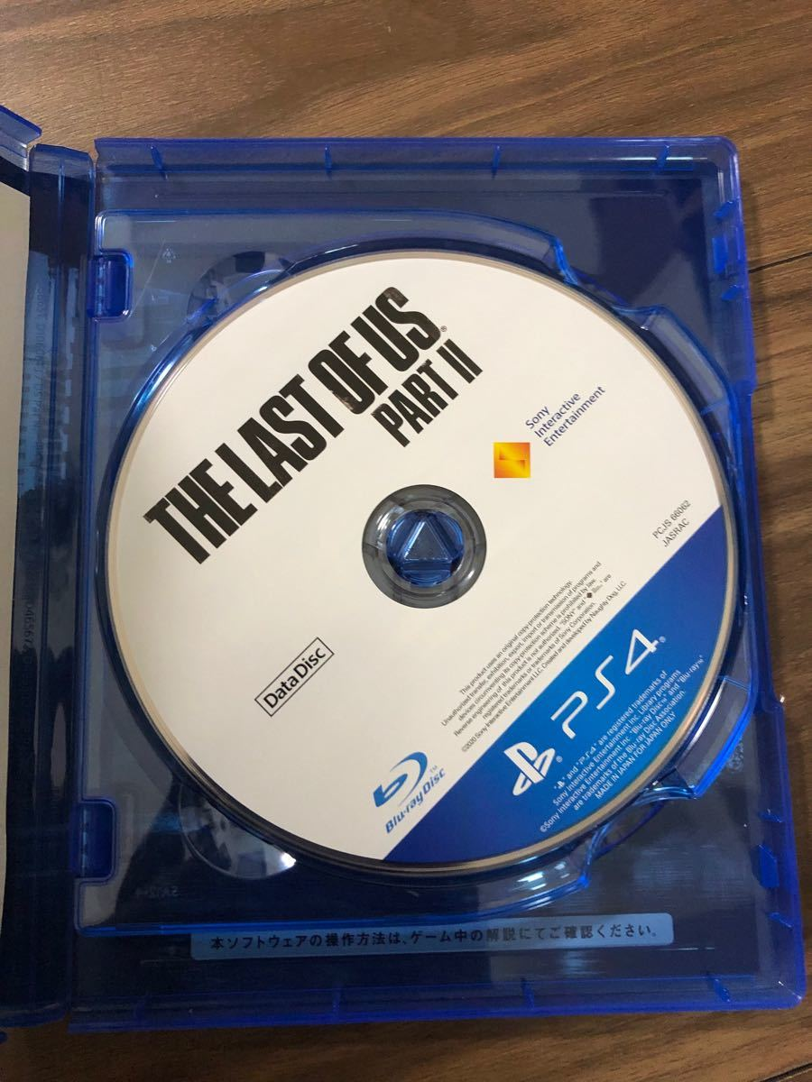 PS4ソフト THE LAST OF US ラストオブアス コード未使用 パート2 2本セット