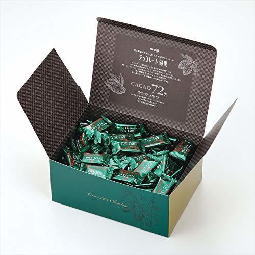 1キログラム(x 1) 明治 チョコレート効果カカオ72%大容量ボックス 1kg_画像3