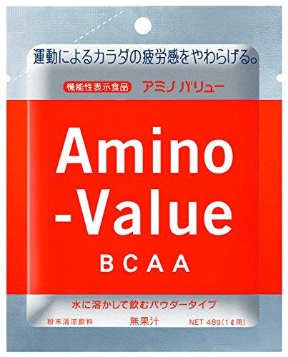 1箱 大塚製薬 アミノバリュー BCAA パウダー8000 1L用 48gx5袋 [機能性表示食品]_画像2