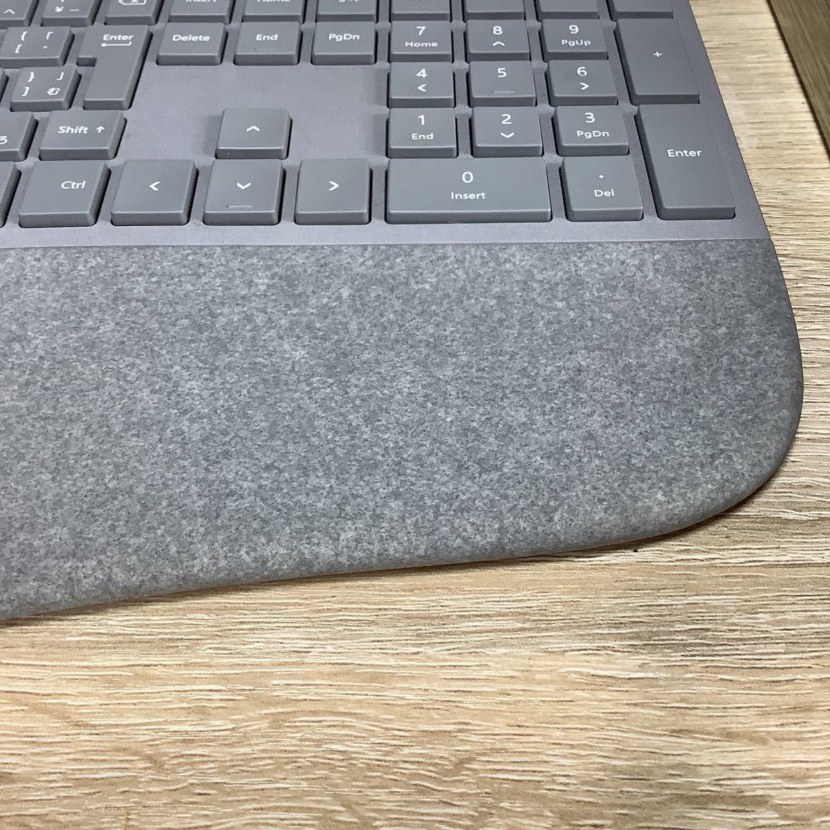 ワイヤレスキーボード 純正品 マイクロソフトSurface Ergomic無線キーボード(日本語キー配列)