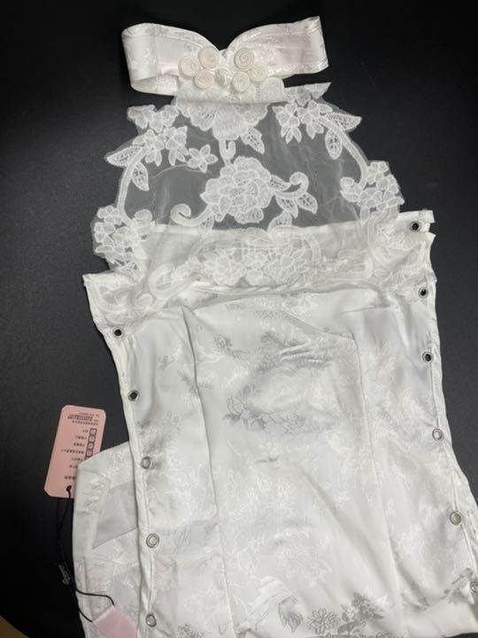 セクシーコスプレ チャイナドレス とってもSexy 白チャイナ 美しい衣装_画像9