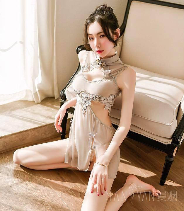 セクシーコスプレ チャイナ服 チャイナドレス エロ可愛い 衣装セット 勝負下着_画像7