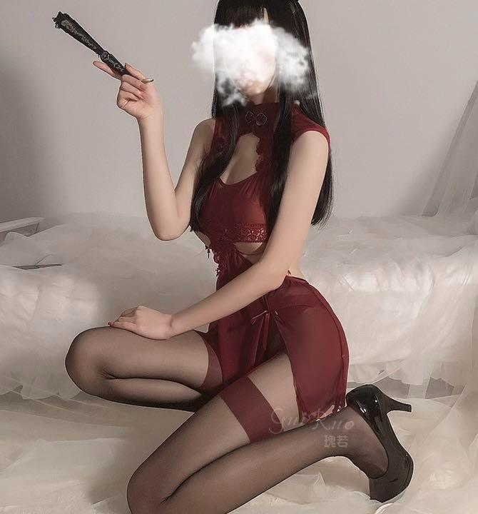 セクシーコスプレ チャイナ服 チャイナドレス エロ可愛い 衣装セット 勝負下着_画像5
