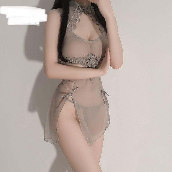 セクシーコスプレ チャイナ服 チャイナドレス エロ可愛い 衣装セット 勝負下着_画像1