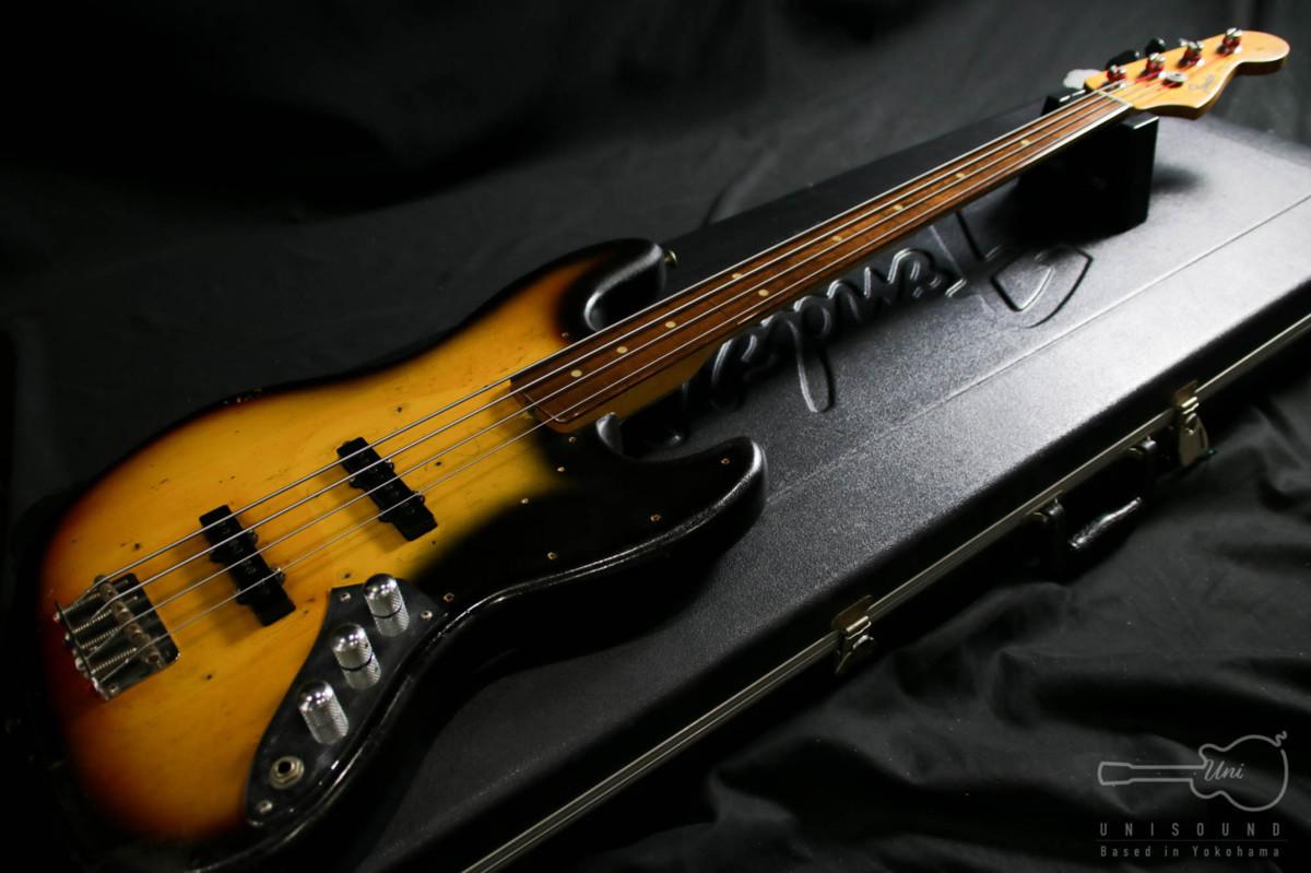 |【送料無料!!】売切!! リアルヴィンテージ!! エレキベース Fender Jazz Bass …