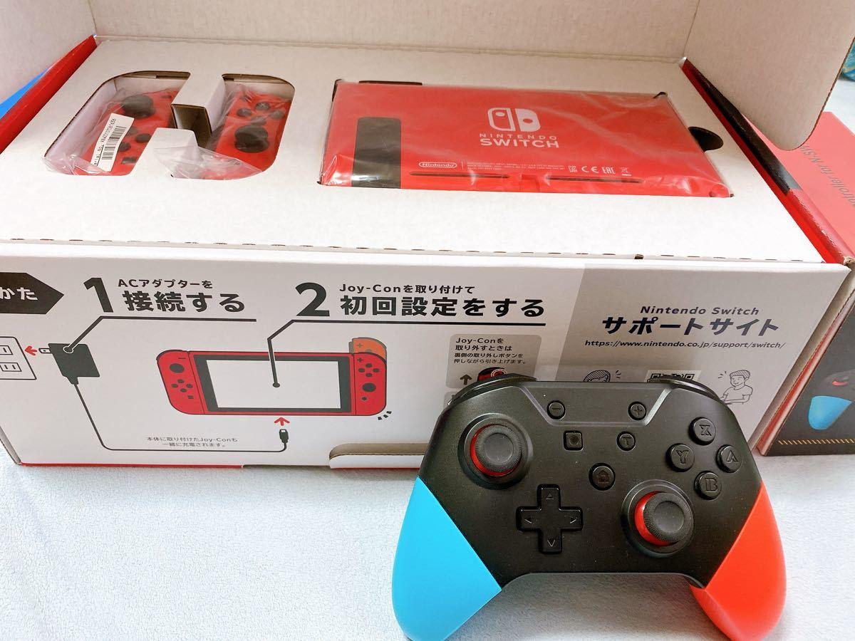 Switch 本体マリオレッドブルー コントローラー付き(お早めに!)