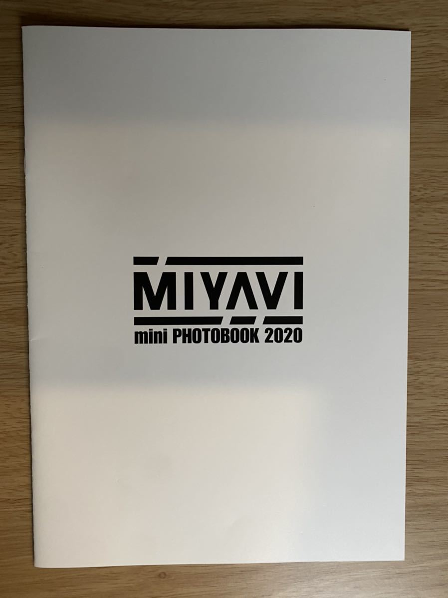 miyavi フォトブック 2020