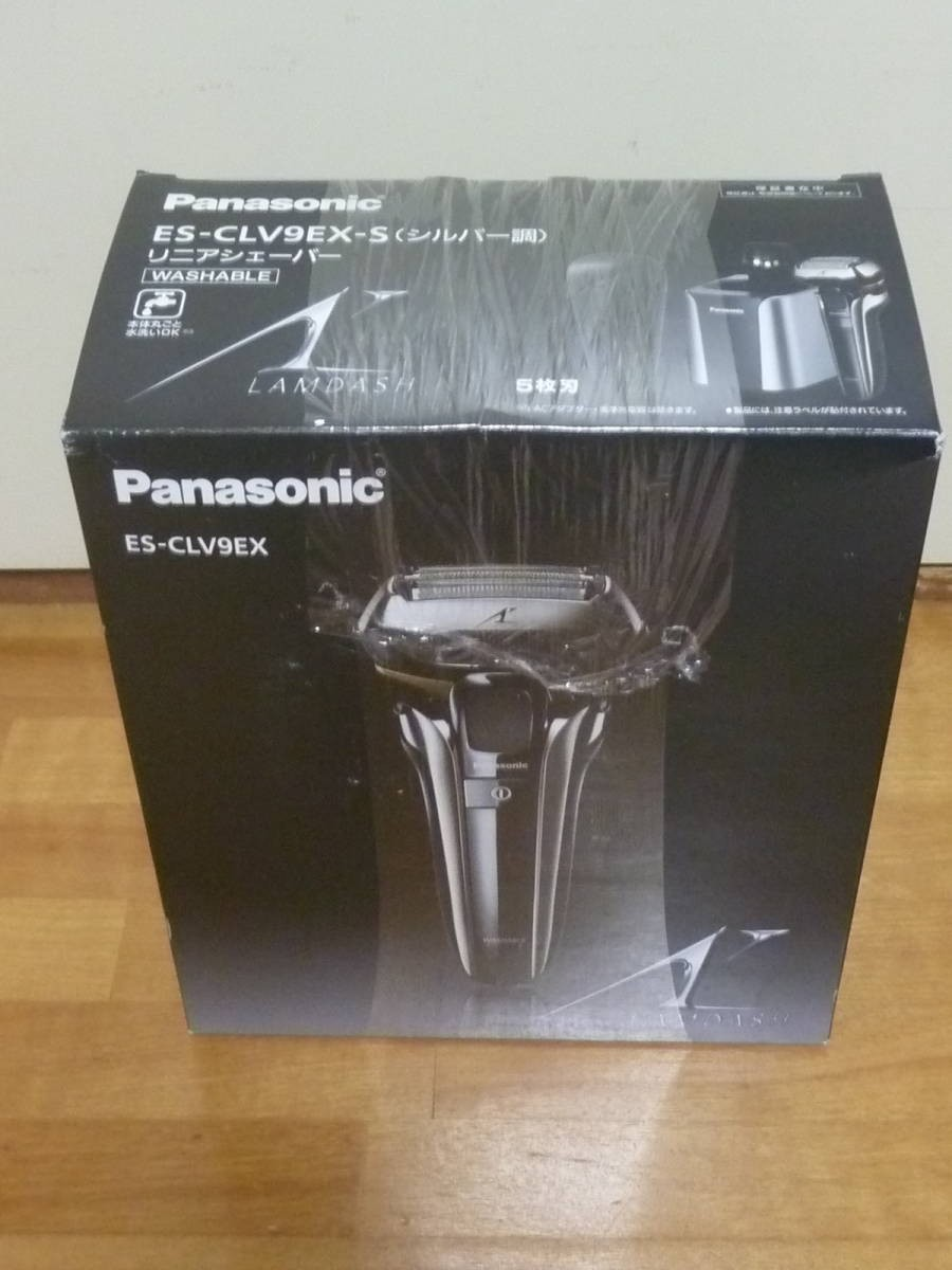 Panasonic ラムダッシュ ES-CLV9EX-S 5枚刃