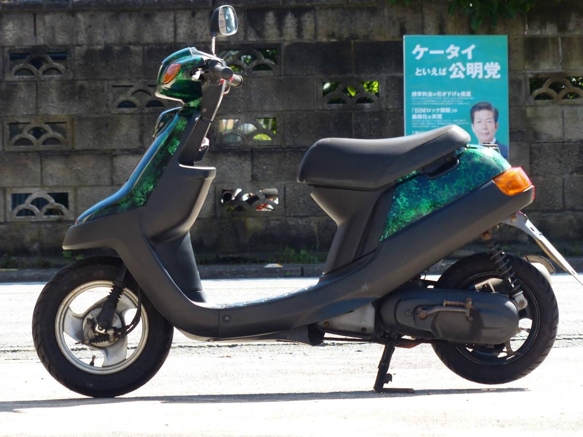 「千葉県 YAMAHA ジョグJOG アプリオ sa11j !2ストスクーター値上がり中 近場格安配送 」の画像1