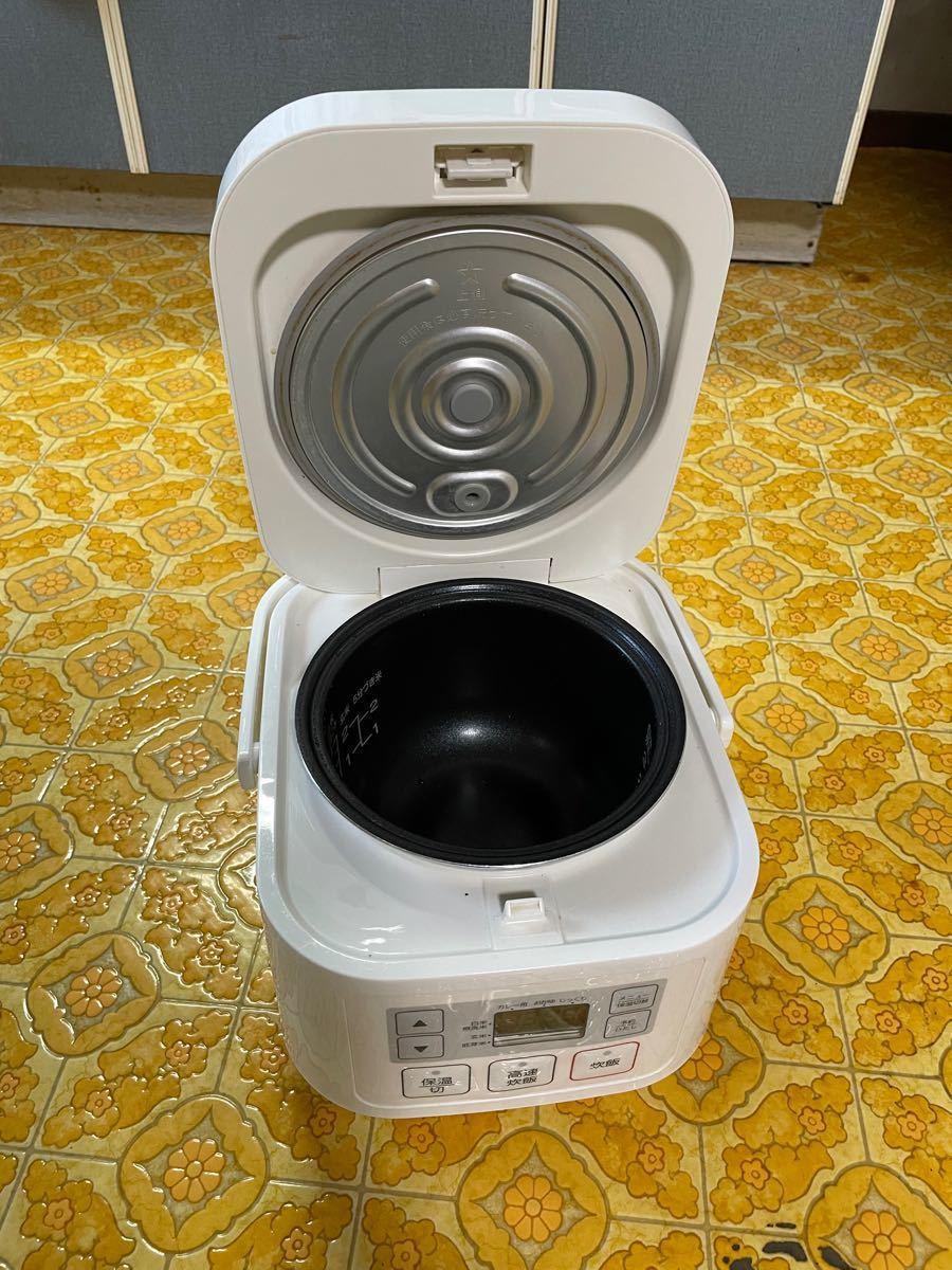 【ニトリ/2020年購入】3合炊きマイコン炊飯ジャー Nティニー(SN-A5WH)