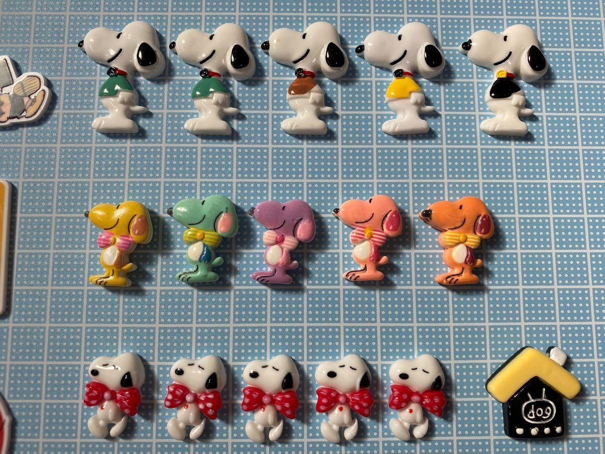 デコパーツ・プラ板 アニマル 犬 16個まとめ売り