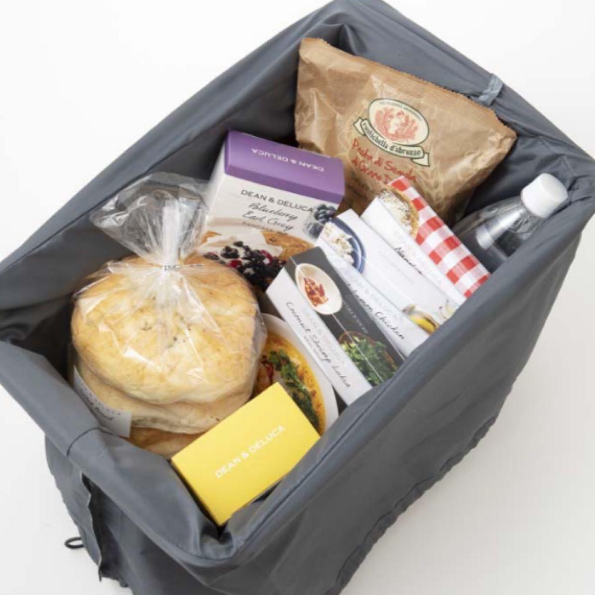 ディーンアンドデルーカ DEAN&DELUCA エコバッグ レジかごお買い物バッグ ストラップ付き保冷ボトルケース GLOW8月号