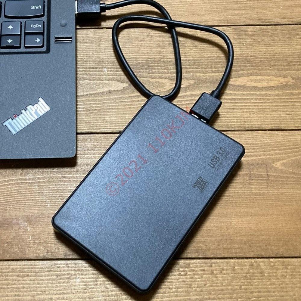 【検査済】 500GB USB3.0 ポータブルHDD 日立製