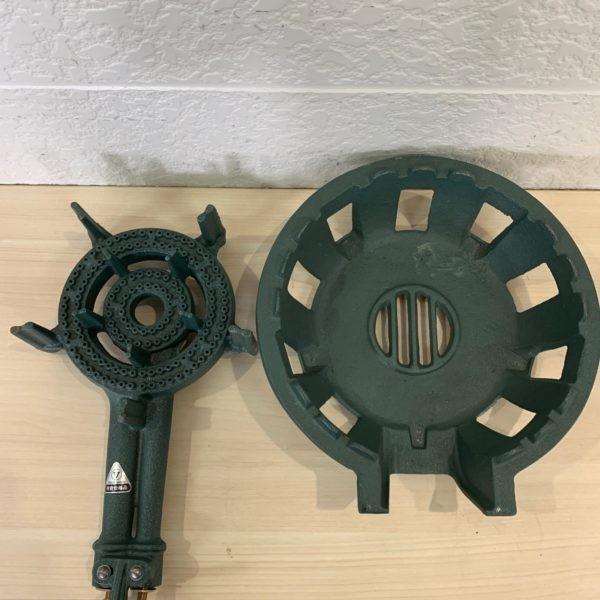 【未使用品】鋳物コンロ TS-210 都市ガス用_画像2